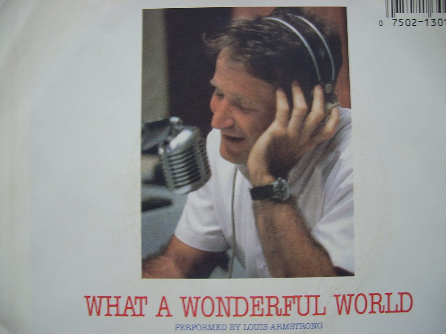 WHAT A WONDERFUL WORLD PERFORMED W LOUIS ARMSTRONG IN ORIGINAL SLEEVE