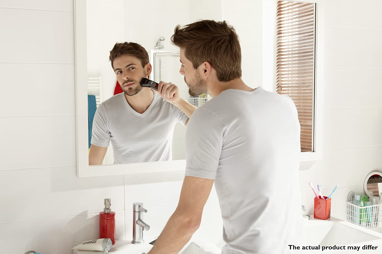 Using a beard trimmer properly