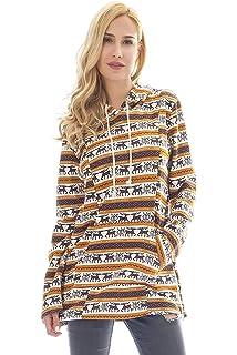 Amazon.com: Sudadera con capucha y cremallera para la ...