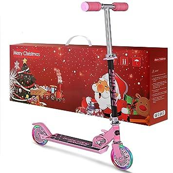 weskate B2 patinete para niños con 120 mm luz LED hasta ...