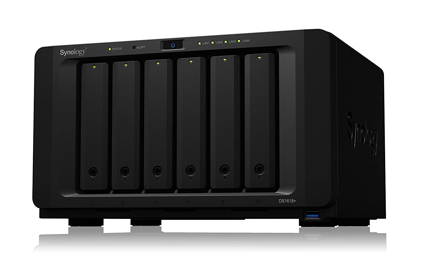 Synology DS1618+/12TB-Red 6 Bay NAS -