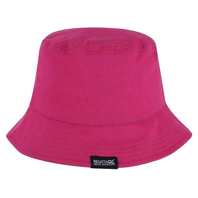 f9942b5eaa06 Regatta Great Outdoors Childrens/Kids Crow Canvas Bucket Hat (1-2 Years)