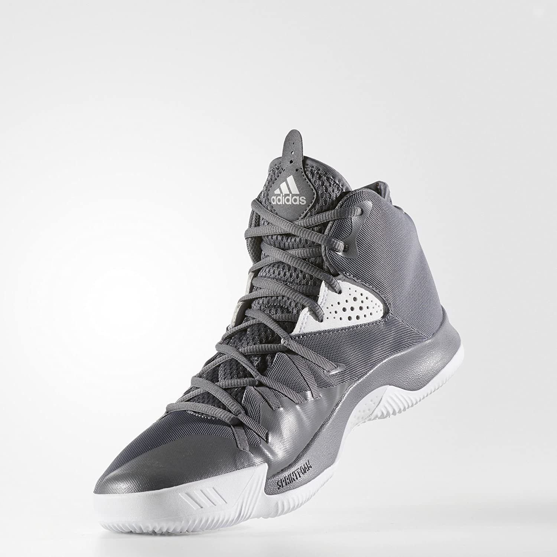 adidas Men s Dual Threat 2017 High-Top Basketball Shoe