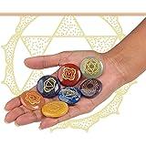 JK Ink. Natural 7 Chakra Stones Set and Healing Crystal Stones Kit Includes 7 Engraved Chakras, Energy Crystals, Reiki…