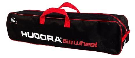 Hudora 14659 - Bolsa para Patinete, Color Negro y Rojo