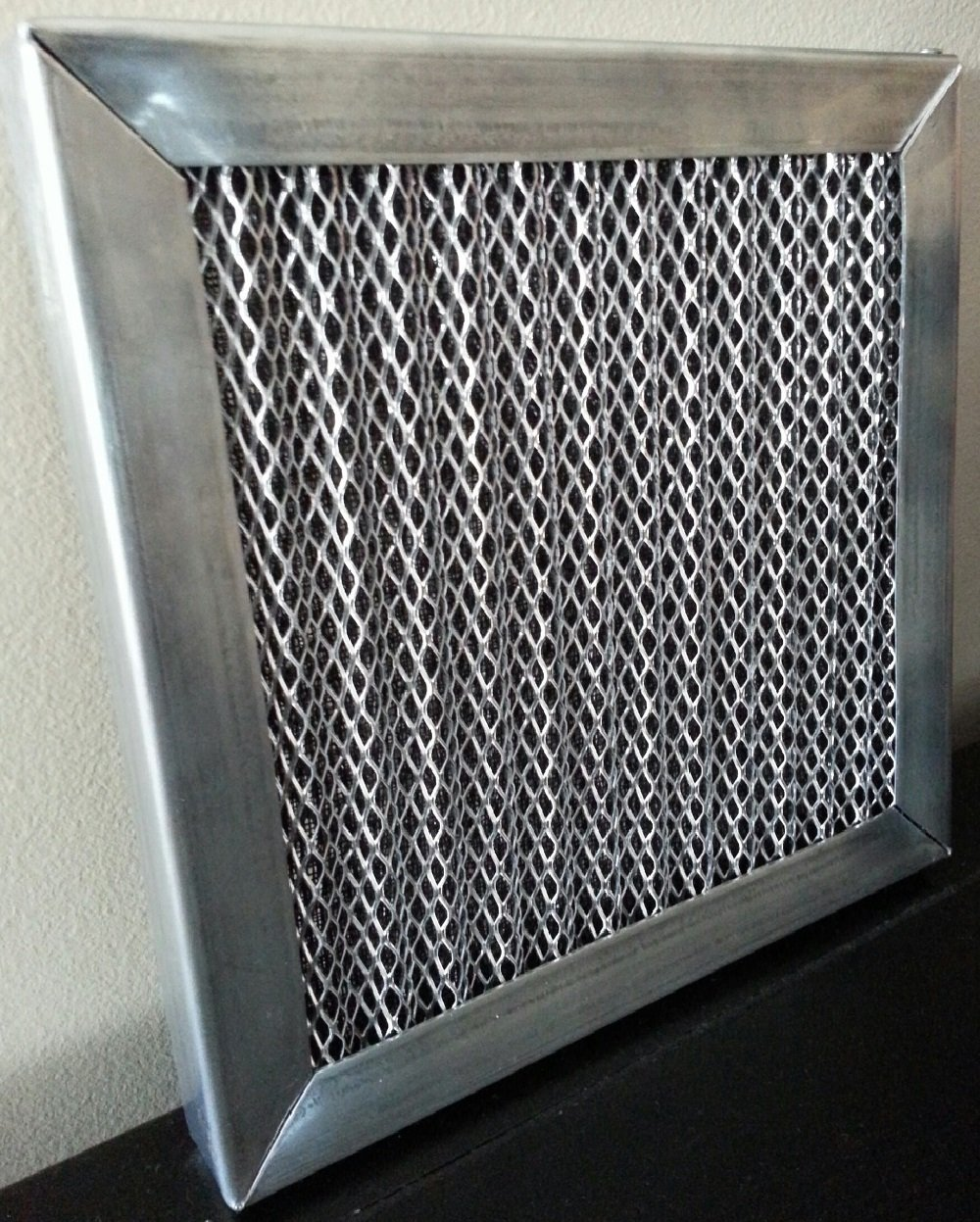 6 STAGE ELECTROSTATIC WASHABLE PERMANENT HOME AIR FILTER Not 5 stage like others STOPS POLLEN DUST ALLERGENS LIFETIME FILTER! (20X24X1)