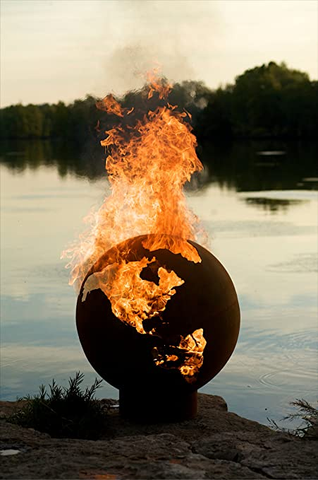 Fire Pit Art Third Rock Fire Pit - Amazon.com : Fire Pit Art Third Rock Fire Pit : Fire Pit Globe