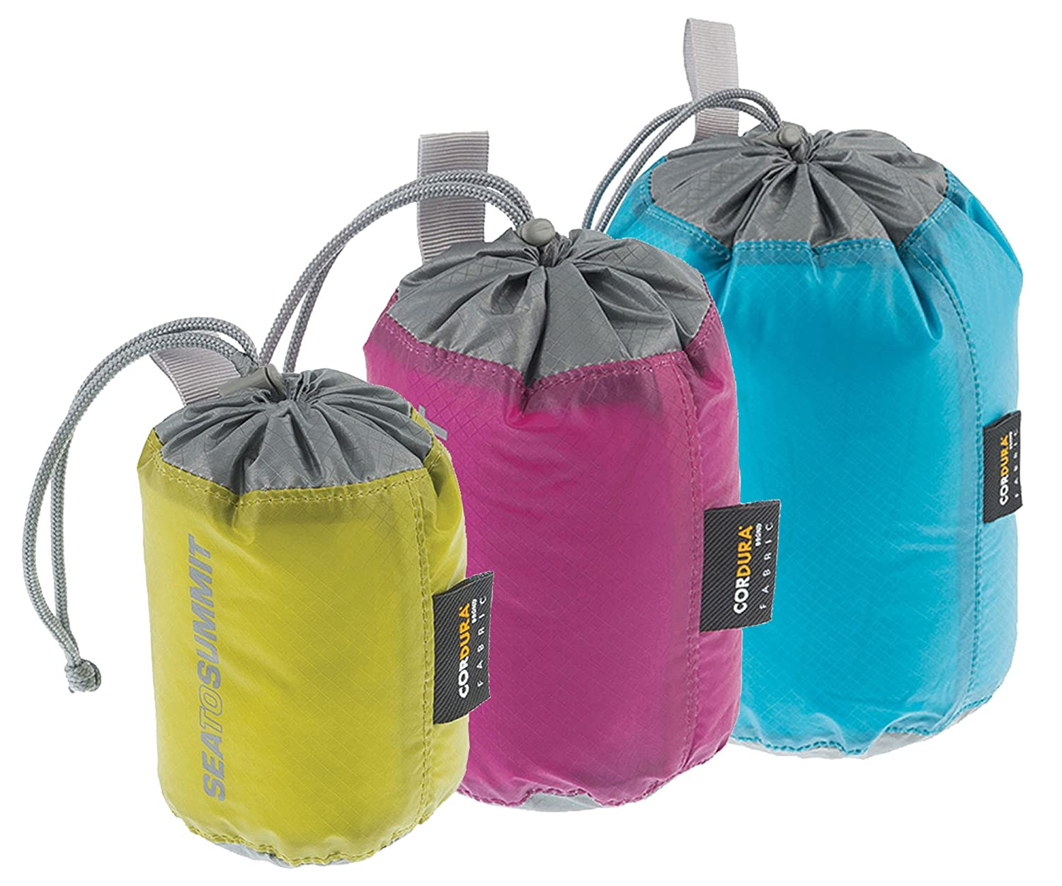 Amazon.com   Sea to Summit Travelling Light Stuff Sack Set (S   M   L)    Sleeping Bag Stuff Sacks   Sports   Outdoors 389b9fc1f26b4