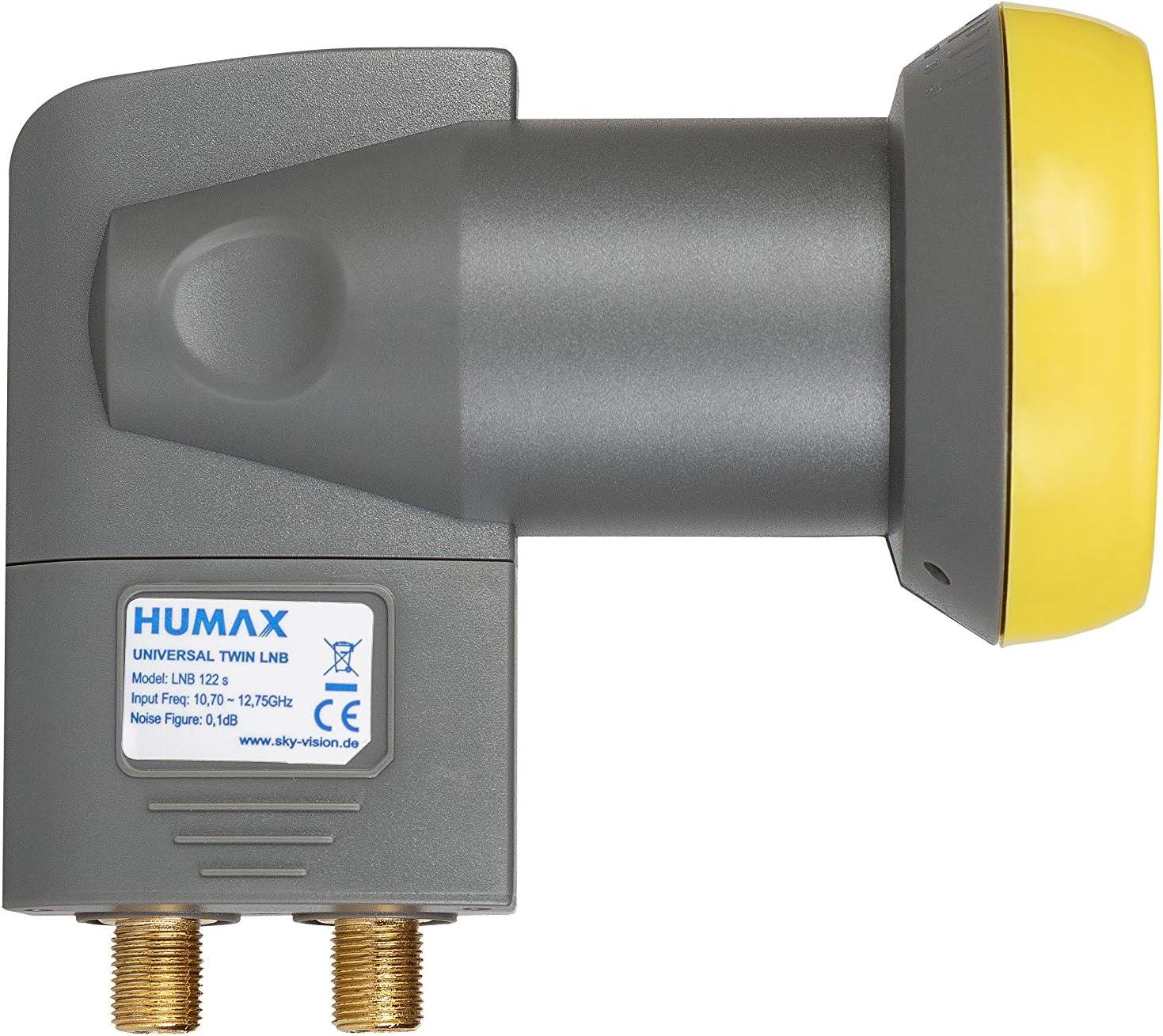 Humax Lnb 122 Gold Twin Universal Lnb Elektronik