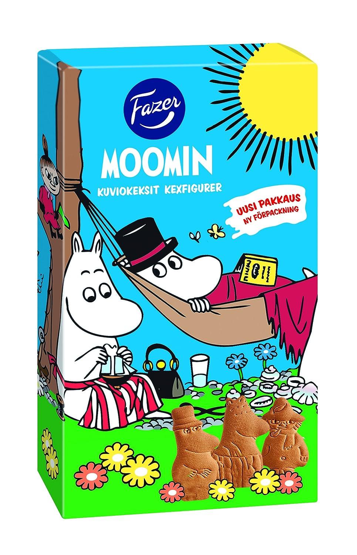Fazer Moomin Kekse//Kexfigurer in Keksdose 175g