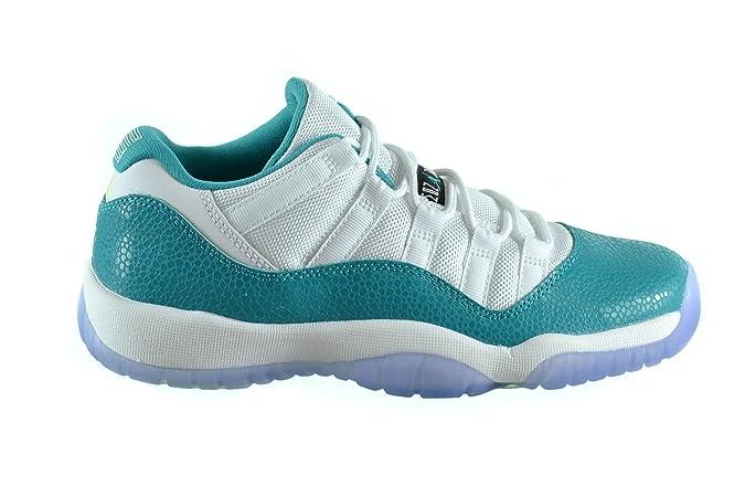 buy online 0cac5 cd533 Amazon.com   Jordan 11 Retro Low GG Big Kids Basketball Shoes White Turbo  Green-Volt Ice-Black 580521-143   Basketball