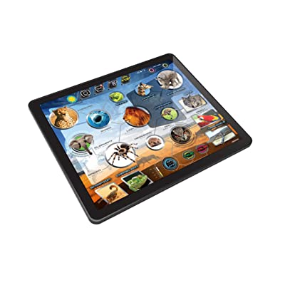 Kidz Delight Smithsonian Animal Tablet, Black : Baby