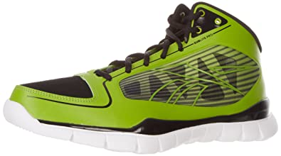 754a513b3c77 Image Unavailable. Image not available for. Colour  Reebok Men s Sublite  Pro Rise Basketball Shoe ...