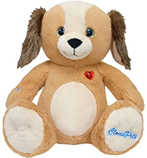 CloudPets 12in Talking Puppy - The Adorable, Huggable Pet to Keep in Touch Through the