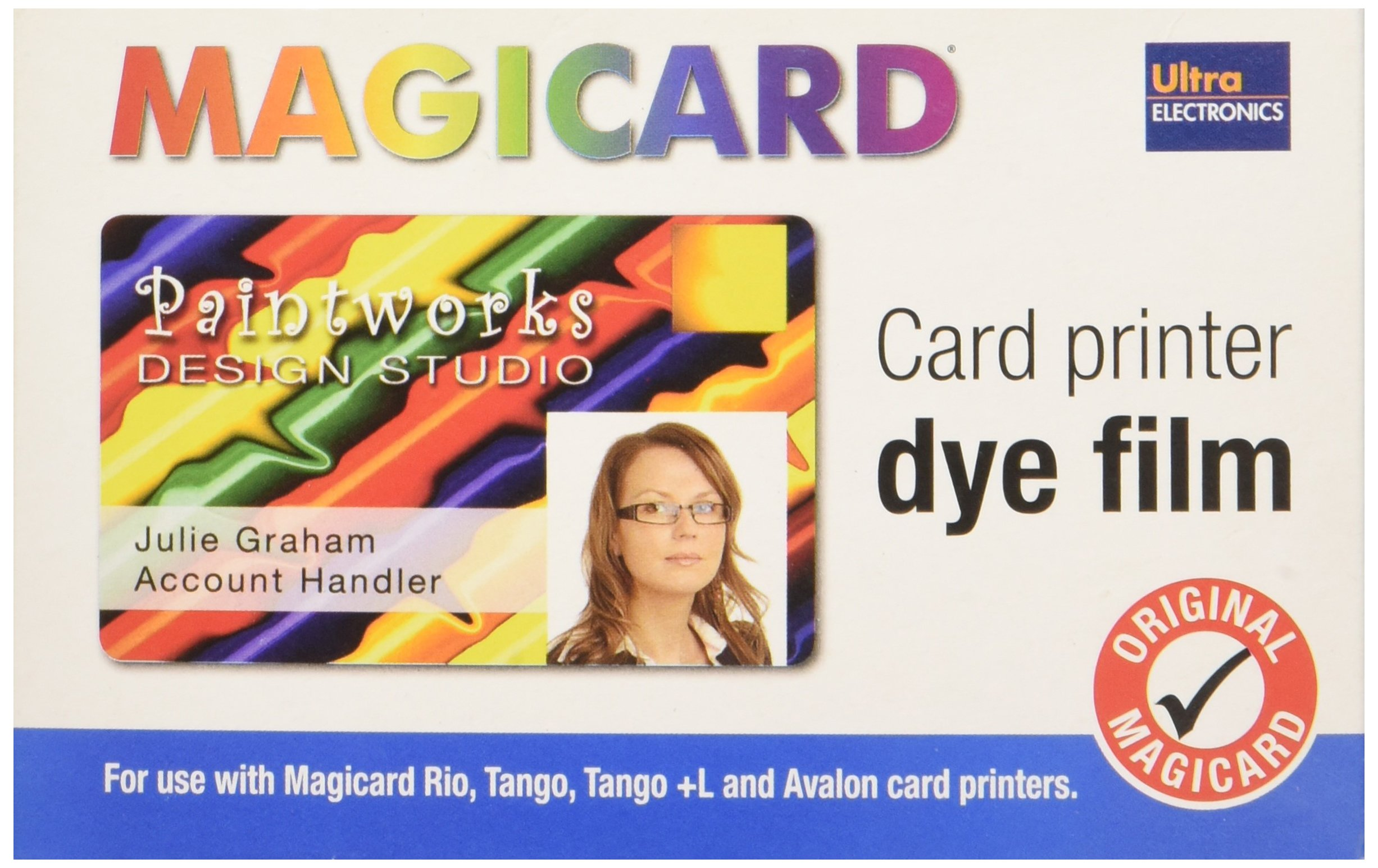 Digital Imaging Consumable, Magicard M9005-751 5 Panel Color Dye FILM-350 Images by Logitech (Image #2)