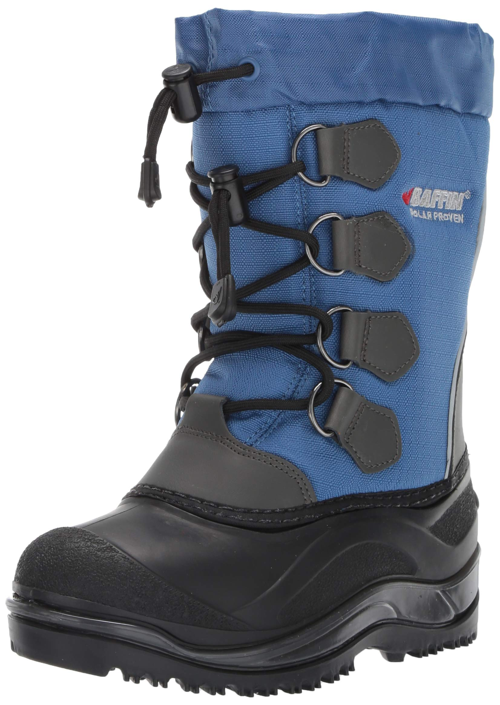 Baffin Unisex SNOWPACK Snow Boot, Blue, 2 Youth US Little Kid