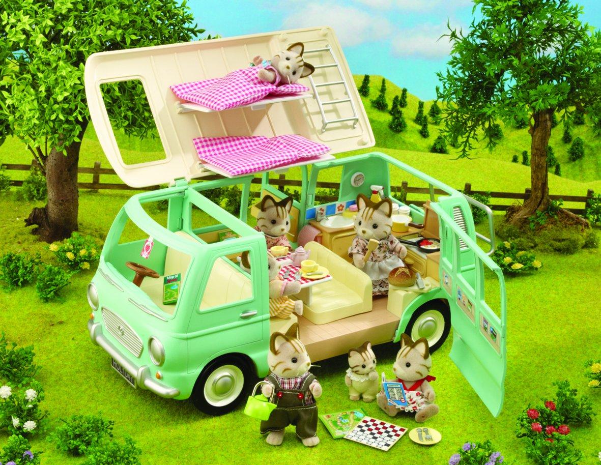 & Sylvanian Families Campervan: Amazon.co.uk: Toys u0026 Games