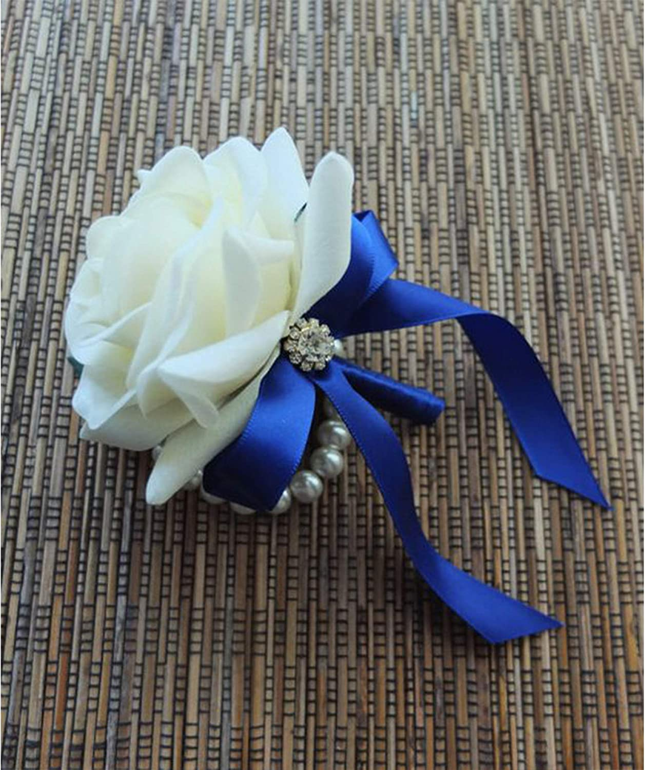 Wreath Baby Shower,Packing and Other Projects. 25 Yard Spool VATIN 1 inch Double Faced Polyester Satin Ribbon Royal Blue Perfect for Wedding