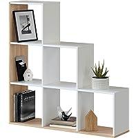 Habitdesign Estantería Librería, Salón, Comedor o Despacho, Modelo