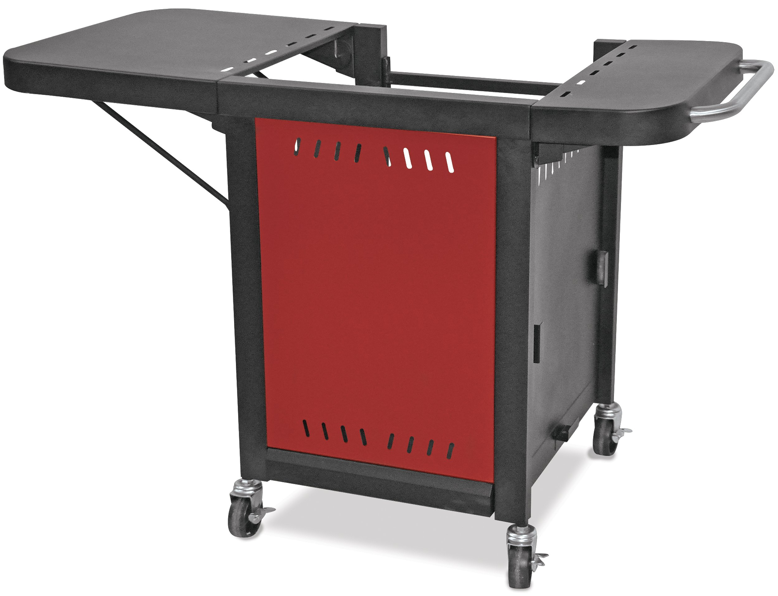 Mr. Pizza ZOC1509M Pizza Oven Grill Cart, Red/Black