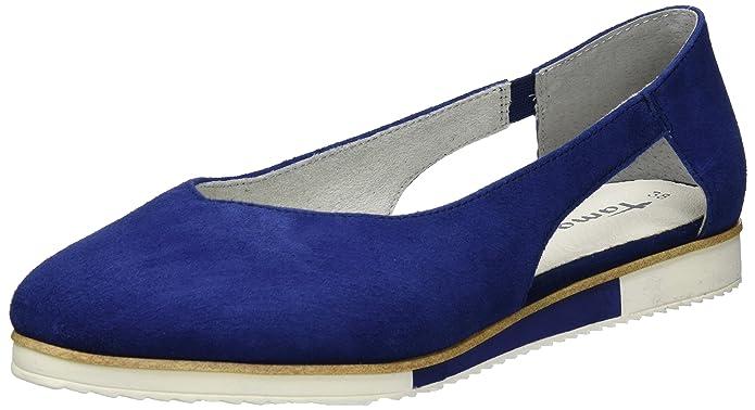 Womens 24202 Loafers, Black, 5 UK Tamaris