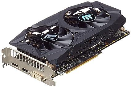 PowerColor 580 Red Dragon - Memoria RAM de 8192 MB (DDR5, HDMI/DVI/DP)