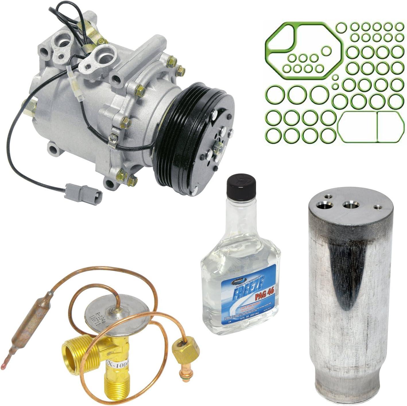 New A//C Compressor Kit 1051393-38810P06A06 Civic Civic del Sol