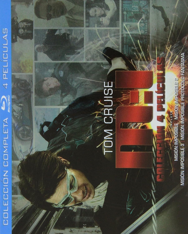 Misión Imposible: Colección Completa [Blu-ray]: Amazon.es: Tom ...