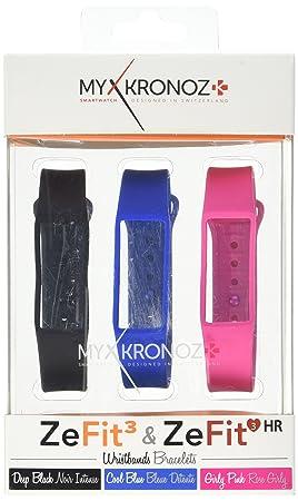 MyKronoz - ZEFIT3 - Bracelet de Rechange - Classic 3