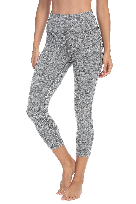 QUEENIEKE Women Yoga Legging Power Flex High Waist Running Pants Workout Tights