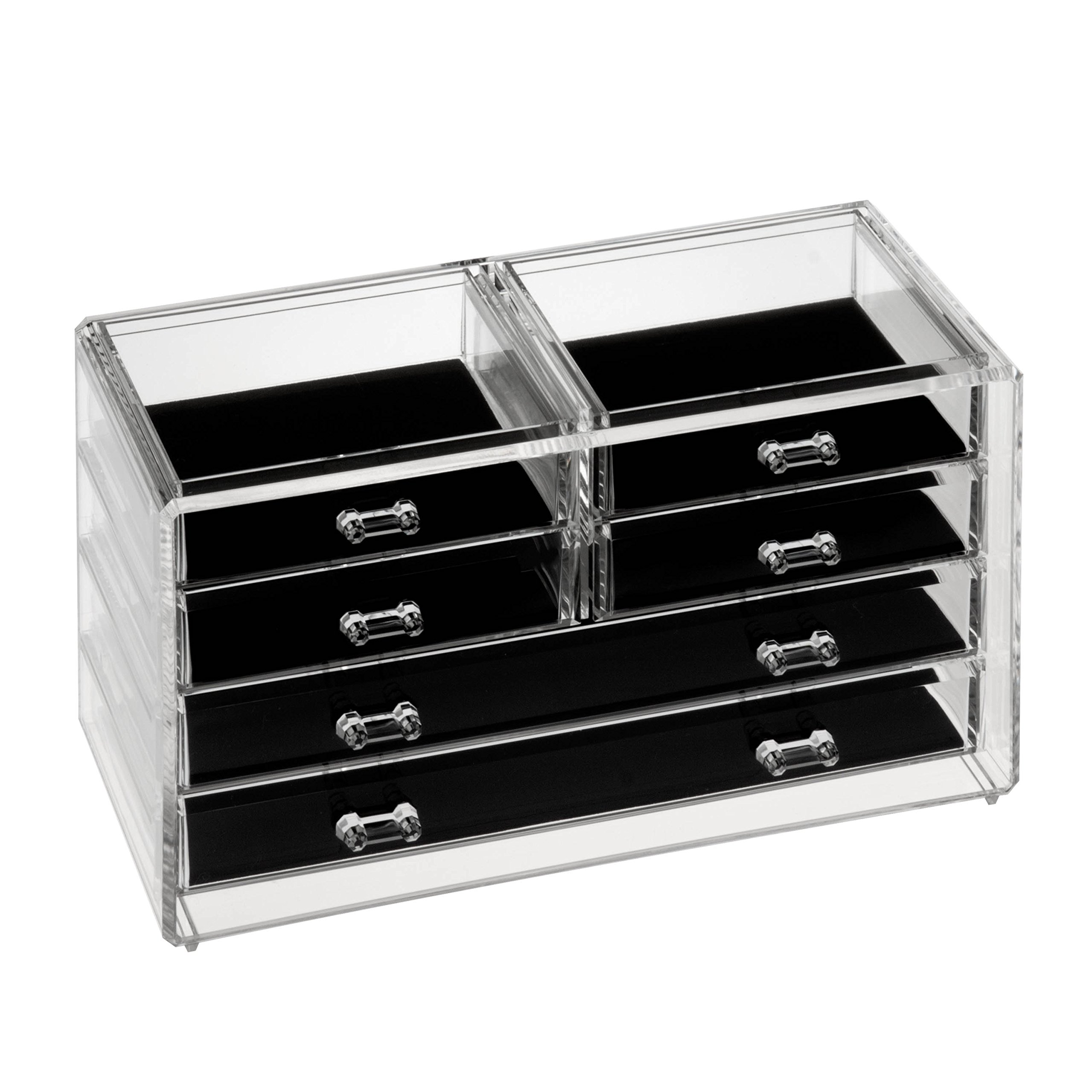 HCD Refined by Honey-Can-Do STO-06381 Stephanie Jewelry Chest, 7.9L x 7.3W x 13H by Honey-Can-Do