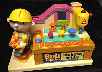 Remarkable Amazon Com Bob The Builder Bobs Learning Workshop Tool Gmtry Best Dining Table And Chair Ideas Images Gmtryco