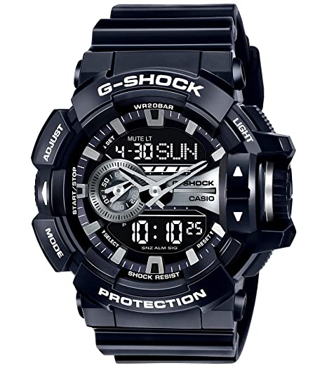 d91cd4c60e9 Buy Casio G-Shock Analog-Digital Grey Dial Men s Watch - GA-400GB-1ADR  (G649) Online at Low Prices in India - Amazon.in