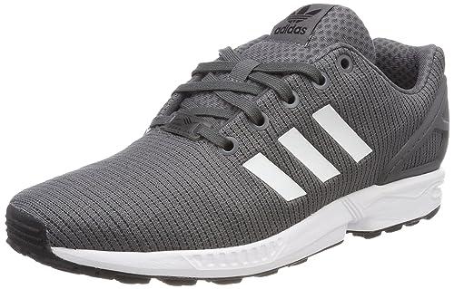 Adidas ZX Flux J, Zapatillas de Deporte Unisex niño, Gris (Gricin/Negbás / Ftwbla 000), 37 1/3 EU: Amazon.es: Zapatos y complementos