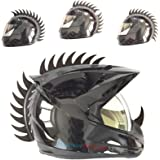 customTAYLOR33 Warhawk/Mohawk Rubber Saw Blade Helmet Accessory Piece (Helmet Not Included)
