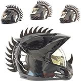 customTAYLOR33 Warhawk/Mohawk Rubber Saw Blade Helmet Accessory Piece (Helmet Not Included)