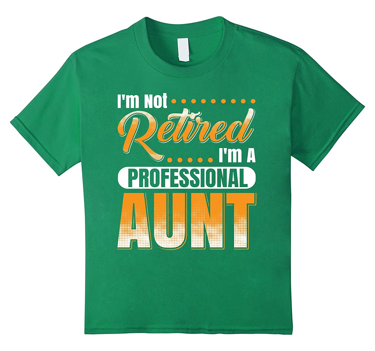 Retired Professional Aunt T Shirt Royal-Veotee