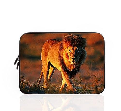 Wylang Patrón De Los Animales Funda Para Ordenador Portátil 10-17 Pulgadas Bolso Con Diseño