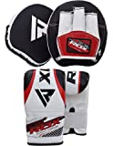 RDX Boxing Focus Punch Mitts MMA Training Punching Hook & Jab Strike Pads Target With Bag Gloves