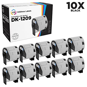 Amazon.com: LD© Compatible Brother dk-1209 etiquetas de ...