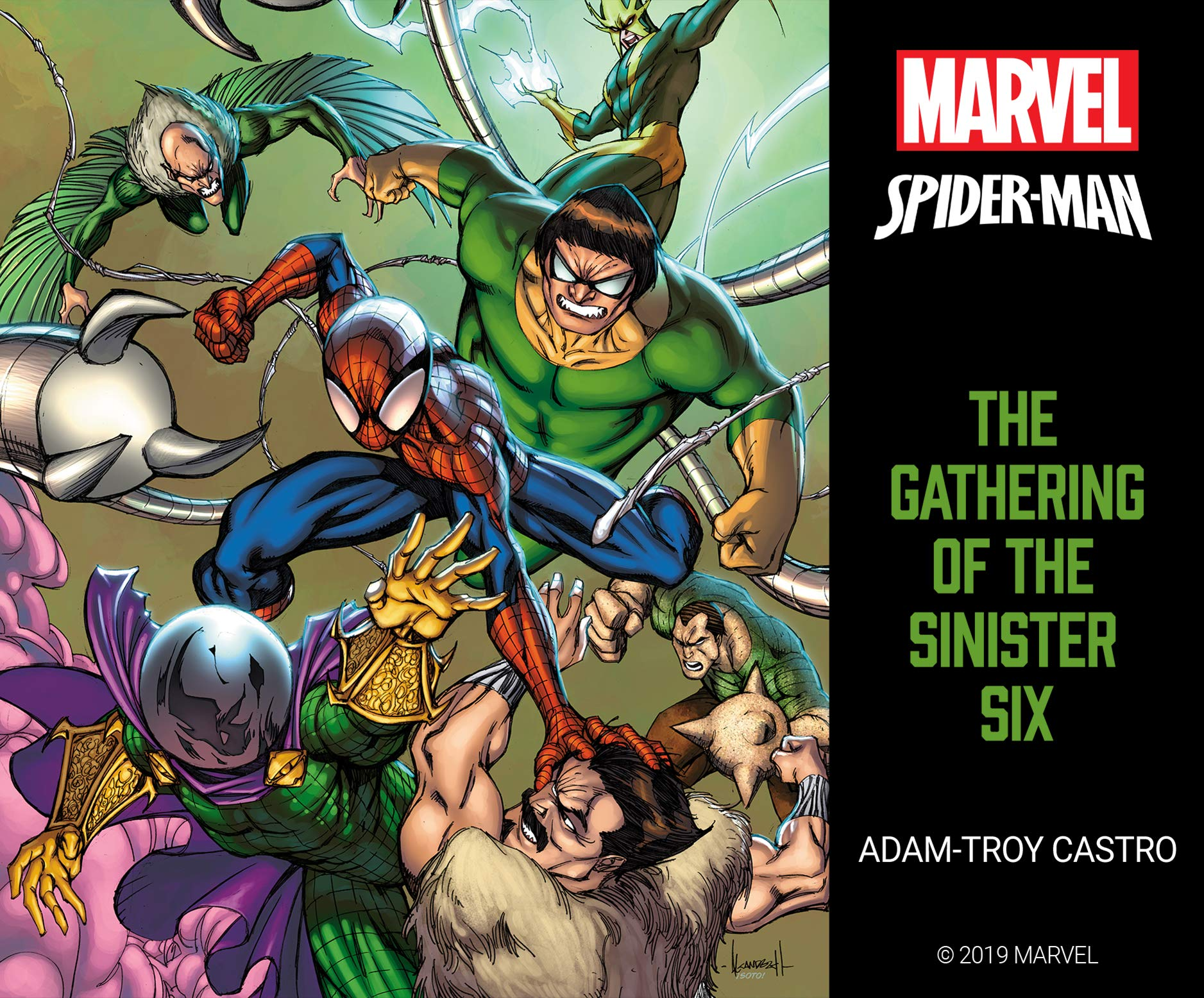 Spider-Man: The Gathering of the Sinister Six: Amazon.es ...