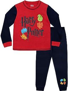 Harry Potter Pijamas de Manga Larga para Niños Hogwarts