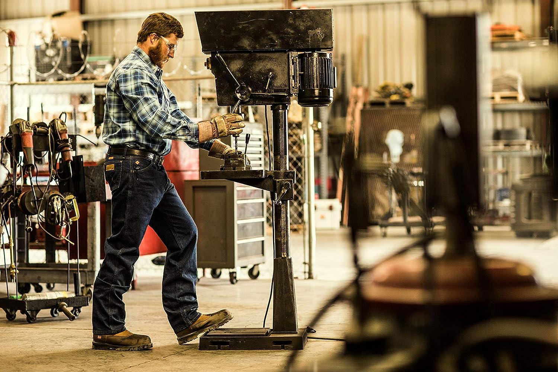 Wrangler Riggs Workwear Mens Flame Resistant Original Fit Jean,Blue,34x36
