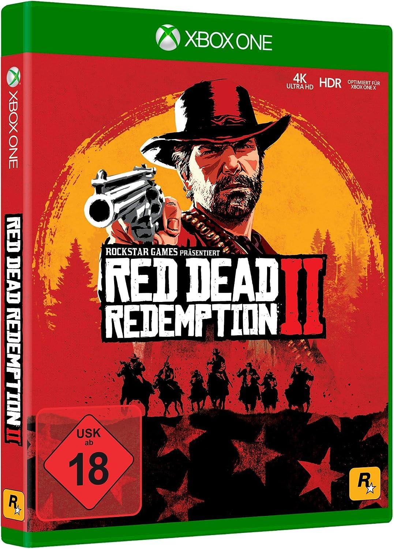 Red Dead Redemption 2 Standard Edition - Xbox One [Importación alemana]: Amazon.es: Videojuegos