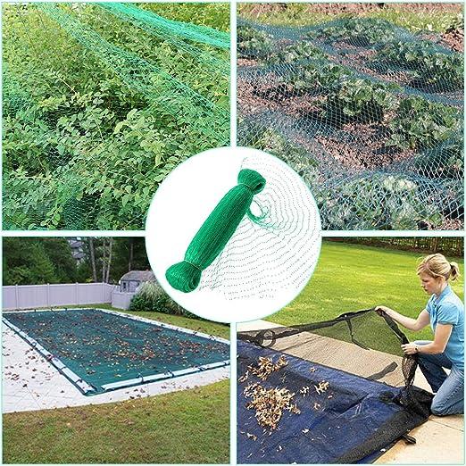 LOVEQIZI Las Redes para pájaros, Las Redes para Jardines no se enredan y Las cercas Reutilizables protegen Las Verduras de Frutas de los pájaros Ciervos,5 * 5M: Amazon.es: Hogar