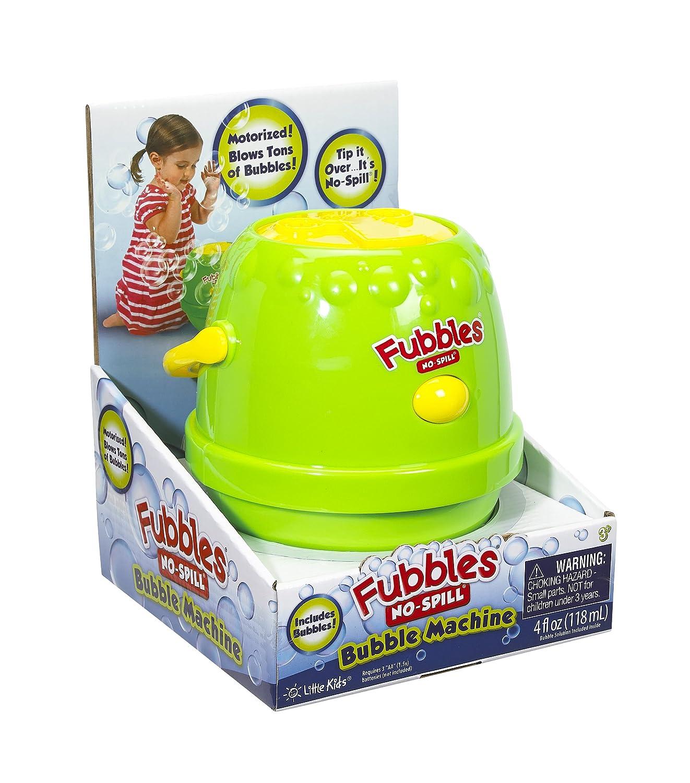 amazoncom little kids fubbles bubble machine pinkpurple toys u0026 games