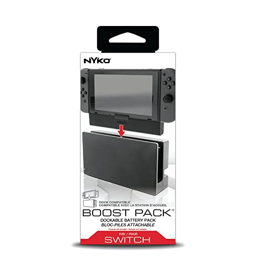 Amazon.com: Nyko Boost Pak - Dockable 2500 mAh rechargeable ...