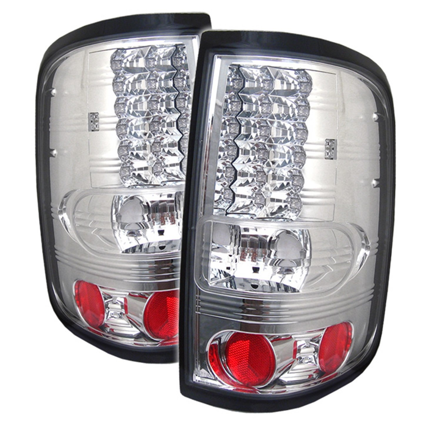 Black Smoke Spyder Auto ALT-YD-FF15004-LED-BSM Ford LED Tail Light