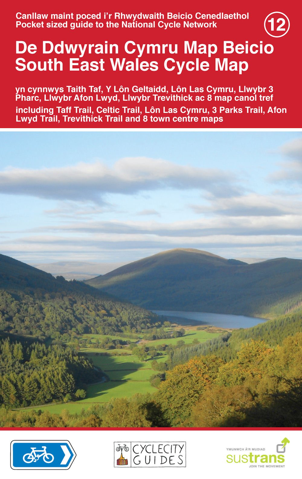 Read Online South East Wales Cycle Map pdf