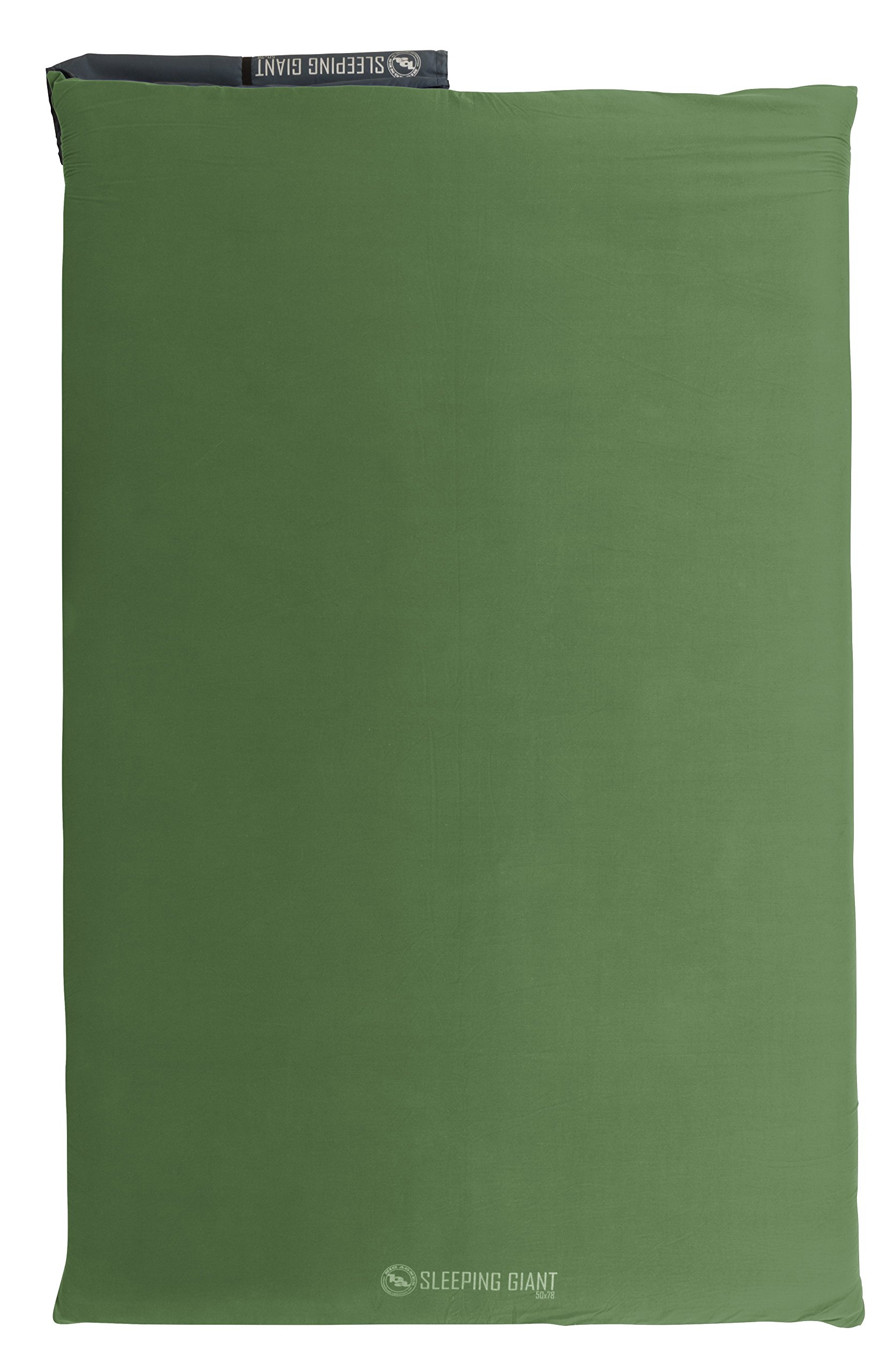 Big Agnes Sleeping Giant Memory Foam Pad Cover, Green/Blue, 50x78 Double Wide by Big Agnes